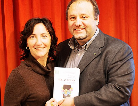 Gli autori: Antonia Cava e Francesco Pira