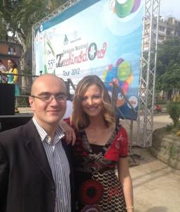 Insieme a Francesca Fialdini