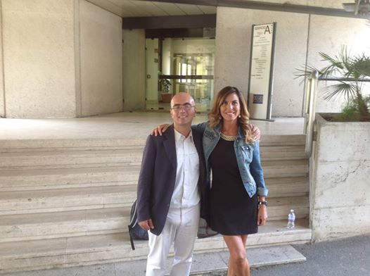 Con Sonia Sarno