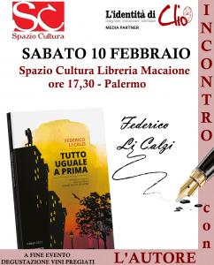 Palermo incontro con l'autore Federico Li Calzi