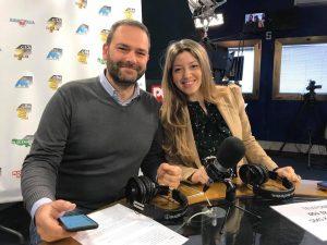 Deborah Annolino e Roberto Ghisellini negli ospiti di Punto Radio