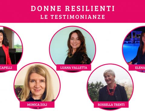 Donne Resilienti le interviste di AD Communications