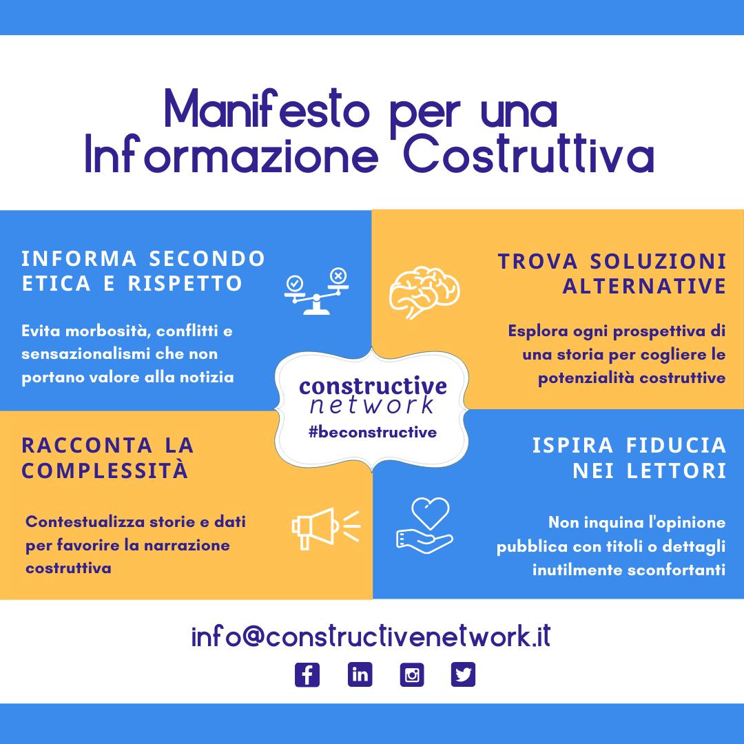 Manifesto per una informazione costruttiva
