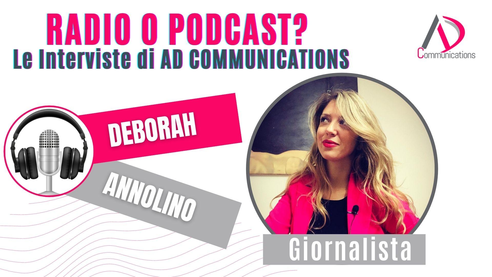 Radio o Podcast - le interviste di AD Communications