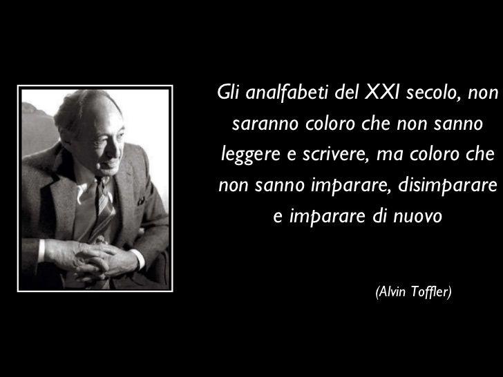 Educare ai Social Media Alvin Toffler
